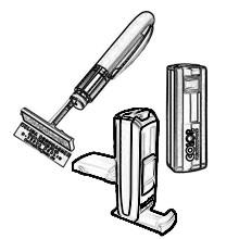 Taschenstempel selbst gestalten als mobile Trodat Taschenstempel, Heri Stempelkugelschreiber oder Colop Pocket Stamp
