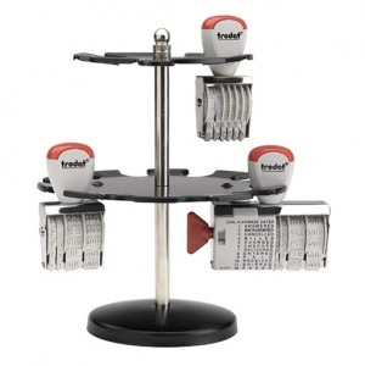 Trodat Stempelträger 3016/M, Metall für 16 Stempel