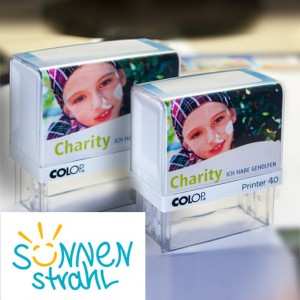 Charity Aktion Colop Printer 40 Textstempel 58x22 mm