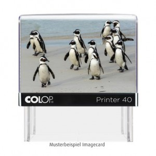 Colop Printer 40 Stempel mit Tiermotiv