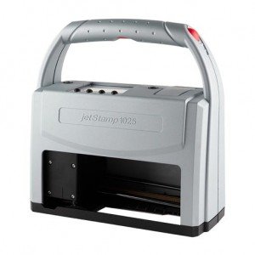 jetStamp 1025 mobiler Elektrostempel mit Akku für Metall und Kunststoff  SCHWARZ