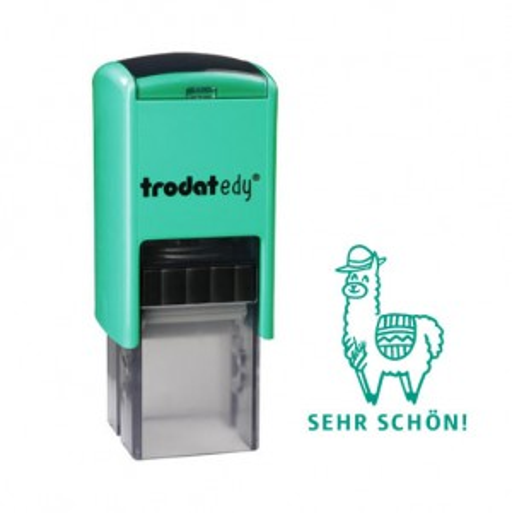 trodat edy FIX - Motivationsstempel Sehr schön! - Printy 4922