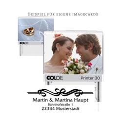 Glückwunsch zur Hochzeit - Hochzeitsstempel online gestalten
