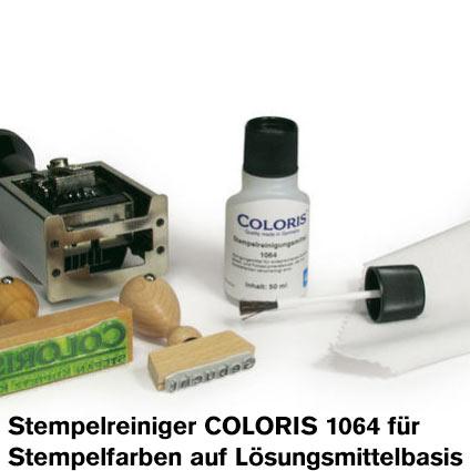Coloris Stempelreiniger 1064 50 ml für Spezialfarbe auf Lösungsmittelbasis