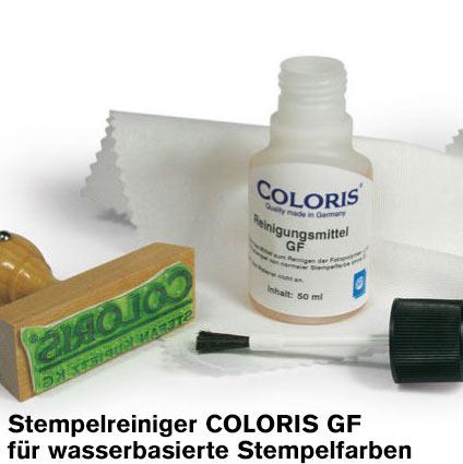 Coloris Stempelreiniger GF 50 ml für wasserbasierte Stempelfarben
