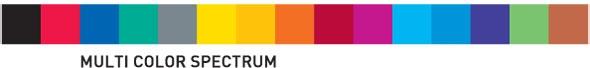 Trodat MCI Farben