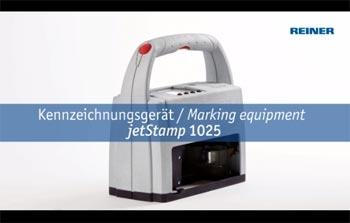 neue Features des mobilen Kennzeichnungsgeräts jetStamp 1025