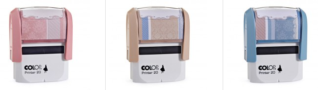 COLOP Lady Line Retro Stempel