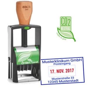 Firmenstempel für Posteingang kaufen - Colop Greenline