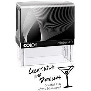 Firmenstempel Colop Printer 40