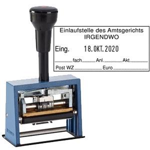 Datumstempel für Posteingang Reiner D65