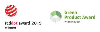 Das Sonnenglas ist Gewinner des reddot award 2019 sowie des green product award 2020.