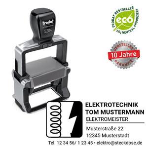 Trodat Professional 5204 Stempel mit Logo erstellen