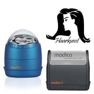 Modico Flash Stempel mit Logo